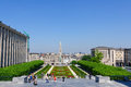 Mont des Arts in Brussels, Belgium Stock Images