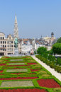 Mont des Arts in Brussels, Belgium Royalty Free Stock Image