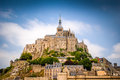 Mont saint michel brittany france Stock Image