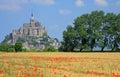 Mont saint michel brittany france Lizenzfreie Stockfotografie