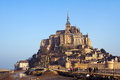 Mont saint michel castle in france Royalty Free Stock Photography
