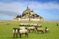 Mont Saint Michel. Royalty Free Stock Photo