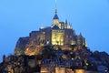 Mont saint michel france Fotografie Stock Libere da Diritti