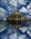 Mont saint michel normandie france Image libre de droits