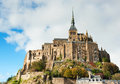 Mont Saint Michel, Normandy, France Royalty Free Stock Photo
