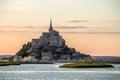 Mont saint michele france Immagine Stock Libera da Diritti