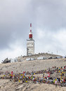 Mont Ventoux- Tour de France 2013 Royalty Free Stock Photo