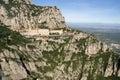 Montaña montserrat montserrat monastery cataluña españa Foto de archivo libre de regalías