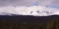Montagne del big horn wyoming Fotografia Stock Libera da Diritti
