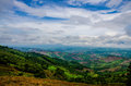 Montain blue sky moutain in thailand Royalty Free Stock Photography