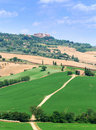Montalcino In Tuscany Royalty Free Stock Image