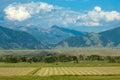 Montana landscape Royalty Free Stock Photo