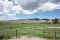 Montana ranch rural in madison county Royalty Free Stock Photography