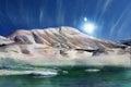 image photo : Magic winter mountain