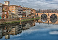 Montauban on Tarn Royalty Free Stock Photo
