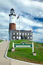 Montauk Point Lighthouse. Stock Image
