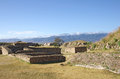 Monte alban archeological site known as located near the city of oaxaca in the mexican state of oaxaca Stock Image