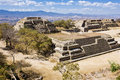 Monte Alban, Oaxaca, Mexico Royalty Free Stock Photo