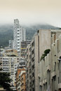 Monte carlo buildings photograph showing some of the typical architecture in monaco high rise are overlooked by the foothills of Royalty Free Stock Photo