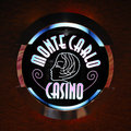 Monte Carlo Casino logo Royalty Free Stock Photography