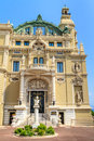 Monte Carlo Casino and Opera Royalty Free Stock Photography