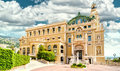 Monte carlo casino and opera house view of the monaco Stock Photo
