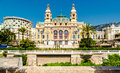Monte carlo casino and opera house view of the monaco Stock Images