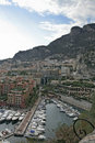 Monte Carlo Harbour Stock Photography
