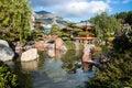 Monte carlo japanese garden Photo libre de droits