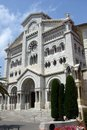 Monte carlo monaco cathedral where is princess grace buried in Stock Photography