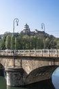 The Monte dei Cappuccini in Turin, Italy Royalty Free Stock Photo