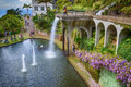 Monte Palace Tropical Garden in Funchal City, Madeira, Portugal Royalty Free Stock Photo