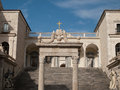 Montecassino-Italy Stock Photos