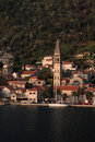 Montenegro, Boka Kotorska, Perast village Royalty Free Stock Photos