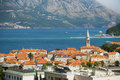 Montenegro budva architecture town image Royalty Free Stock Photo