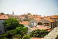 Montenegro budva old town architecture Royalty Free Stock Image