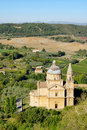 Montepulciano church Royalty Free Stock Photos