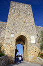 Monteriggioni tuscany italy historical city gate of medieval village Royalty Free Stock Photography