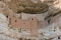 Montezuma Castle National Monument, ancient cliff dwellings Royalty Free Stock Photo
