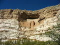 Montezuma Castle National Monument in Arizona Royalty Free Stock Photo