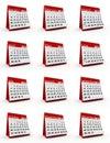 2014 monthly calendar