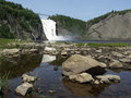 Montmorency Falls, Quebec Royalty Free Stock Photo
