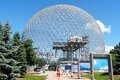 Montreal Biosphere in Canada Stock Photo