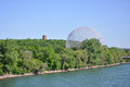 Montreal Biosphere in Montreal Royalty Free Stock Photography