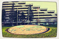 Montreal olympic village vintage look Stock Photos