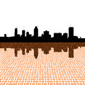 Montreal skyline with binary Stock Photos