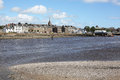 Montrose and the River Esk in Scotland, Great Britain