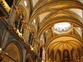 Montserrat church Royalty Free Stock Photos