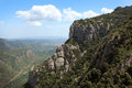 Montserrat mountain near barcelona in spain Royalty Free Stock Photography