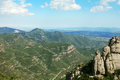 Montserrat mountain near barcelona in spain Royalty Free Stock Photos
